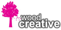 Wood Creative tree logo
